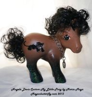 Angela Davis Custom My Little Pony by mayanbutterfly