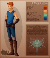 My OC - Ross Weost by OuttatheBlueSkye