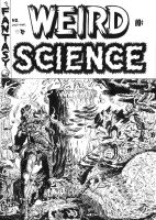 WEIRD SCIENCE WALLY WOOD TRIBUTE COVER by Dioworship