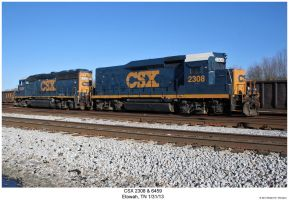 CSX 2308 + 6459 by hunter1828