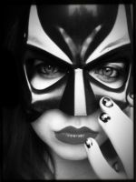 Bat Mask by elizabethunseelie