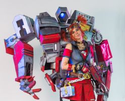 Borderlands 2 Gaige cosplay 2 by The-Irstress