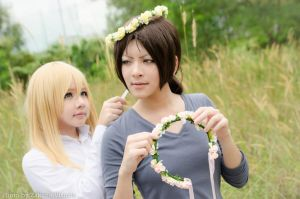 Ymir n Christa from shingeki no kyojin by Zakane