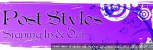 Cubicle Post Styles banner by zoe042
