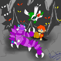 mission 4:the drapion and eggs by Pikachim-Michi