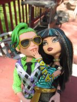 Cleo and Deuce:Her Manster Three by Childofwestwind