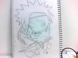 Naruto sketch by cyras111