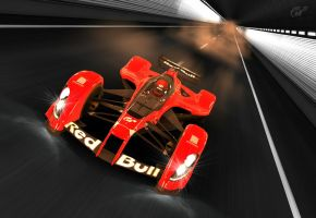 Red Bull X2010 - Furious Red by MercilessOne