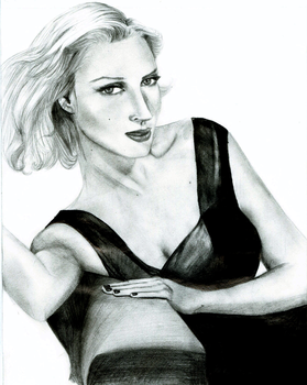 Uma Thurman by starkissed