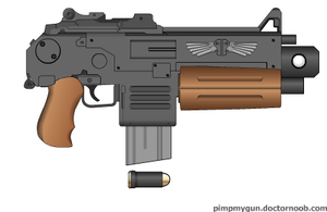 """Colt """"Bolter"""" by Robbe25"""