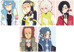 dmmd keychains by Tomoji