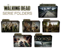 The Walking Dead- Serie Folder by Andreicons-clemente