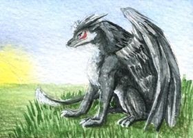 Zero ACEO by Thalathis