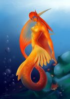 mermaid by Shivik