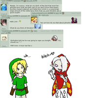 Ask Link 51 52 53 54 - Ghirahim by Ask-Link