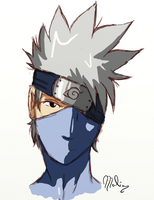 Kakashi Hatake - Sketch by Malia-Konabel