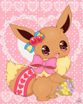 kawaii  Eevee by jirachicute28