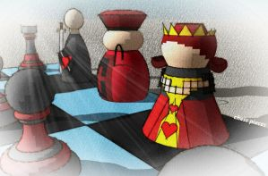 human chess sets by rDeanL