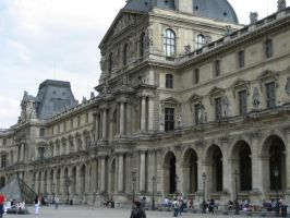 Louvre by CAStock