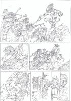 line art Battle by THECOOLGEEK