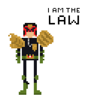 Judge Dredd by TheRedNightDog