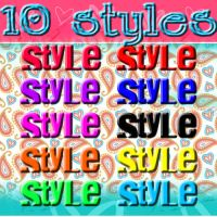 10 new color styles by DivasAndSuperstars