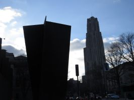 Cathedral of Learning in Pittsburgh by defyinggravity10