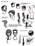 Some notes on hair. by FUNKYMONKEY1945