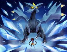 Kyurem Encounter! by PokuriMio