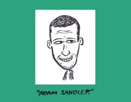 Adam Sandler Caricature by Sherkeylock