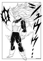 DBS Vegeta by bloodsplach