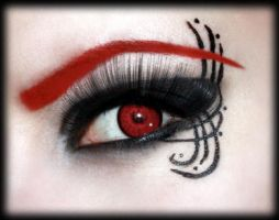 Red eyebrows by aurelia87