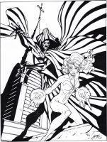 Cloak and Dagger sample inks by lebeau37