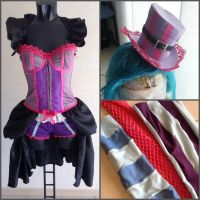 Wip of Victorian Jinx by NoFlutter by TheKikih