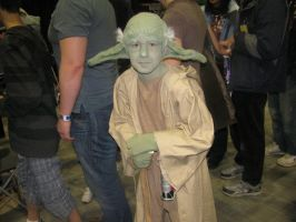 Yoda Cosplay by nikianime