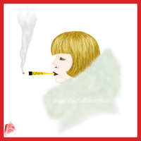 Cigarette Girl by CircusMonsters