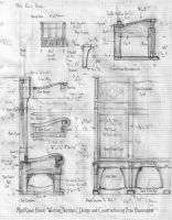 Mud Room Bench Sketch Page by Built4ever