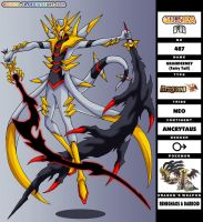 GFR 487 - Dragoon of Giratina by Gijinka-FR