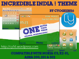Incredible India Theme for Nokia 320x240 by cyogesh56