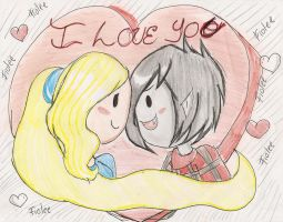 FIOLEE-I love you! by C-ELF
