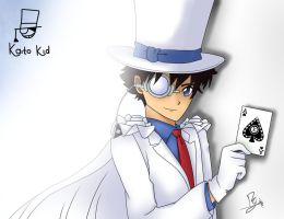Kaito Kid by happygirlXD