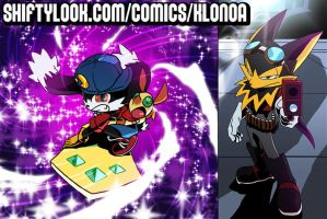Klonoa at Shiftylook.com by theCHAMBA