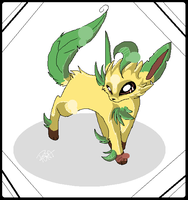 Leafeon by frandlle