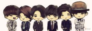 1000 days with B.A.P by jinscloud