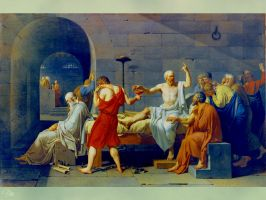 The Death of Socrates by GracieKane