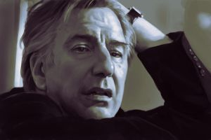 A Tribute to Alan Rickman by ConejoBlanco