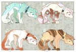Mystery Dog Adopt Batch 5 CLOSED by Adoptables-station