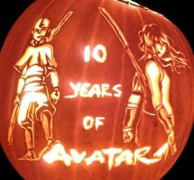 10 Years of Avatar - Pumpkin by musogato
