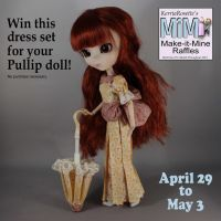 Win this Dress and Parasol for Pullip by KerriaRosette