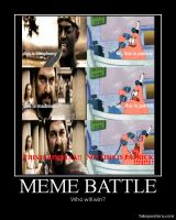 THIS IS SPARTA vs THIS IS PATRICK Meme Battle by Onikage108